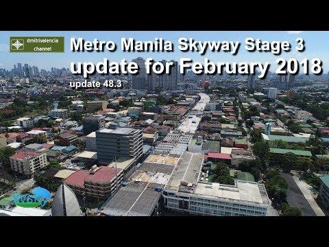 dmitrivalencia - Metro Manila Skyway Stage 3 works as of Feb 2018