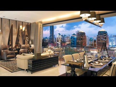 Opulent Luxury Show Flat in Grange Infinite Tower, Singapore