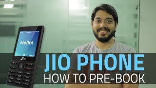 Reliance jio phone: how to pre-order