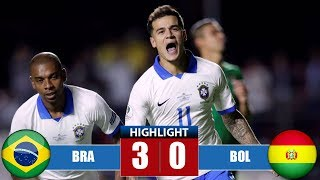 Brаzіl vs Bоlіvіa 3-0 Highlights & All Goals - Cоpа Аmériса 2019
