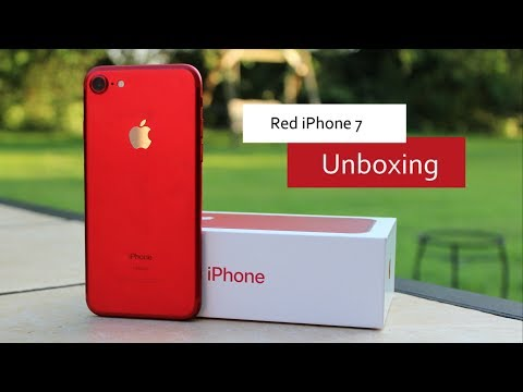 Product Red iPhone 7 Unboxing!!
