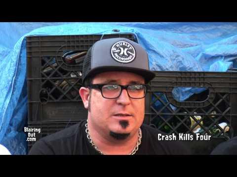 """""""Crash Kills Four"""" tw Eric Blair about New album and Rikk Agnew 2014"""