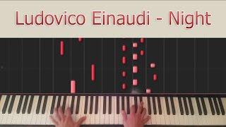 Night - Ludovico Einaudi - Synthesia
