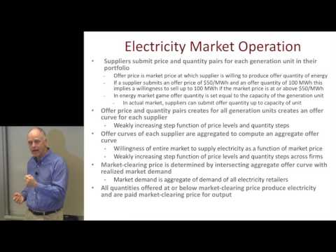 Frank Wolak: Electricity Markets | Energy @ Stanford and SLAC 2016