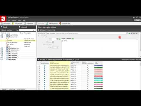 Tutorial De Sql Data Generator