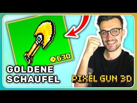 Goldene Schaufel gekauft! Battle Royale Skin! | Pixel Gun 3D [Deutsch]