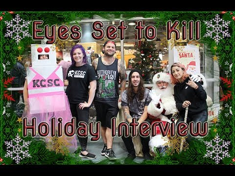 KCSCradios Interview with Eyes Set to Kill