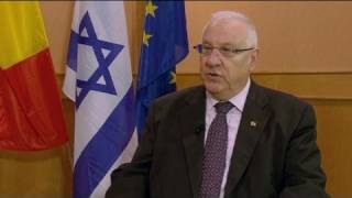 euronews interview - Rivlin: 'Palestinians trying to impose peace'