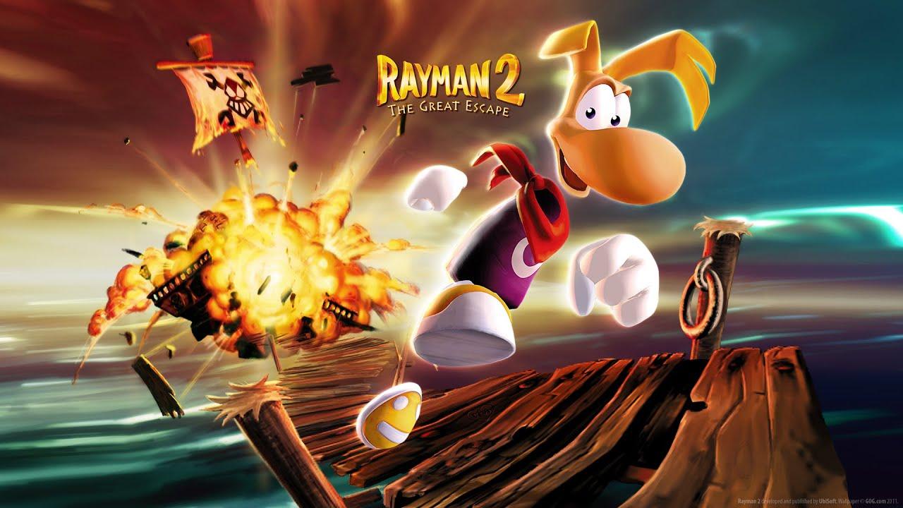 Znalezione obrazy dla zapytania rayman 2 the great escape