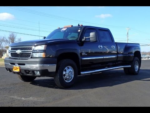 2006 chevrolet silverado 3500 lt dually duramax for sale dayton troy piqua sidney ohio. Black Bedroom Furniture Sets. Home Design Ideas