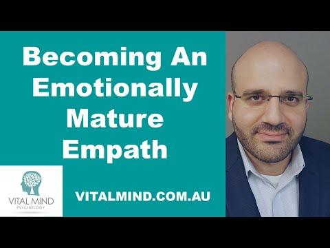 Becoming An Emotionally Mature Empath