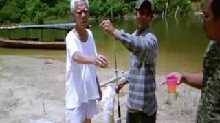 Pancing - Malaysia freshwater fishing.  ...
