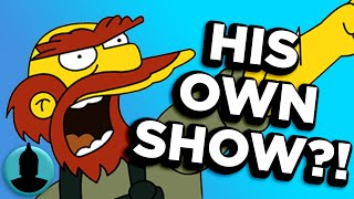 These 10 Simpsons Side Characters NEED Their Own Show - (ToonedUp #159) | ChannelFrederator
