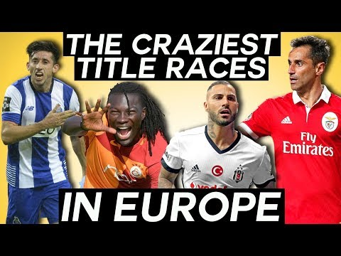 The craziest league title races you should be watching - turkish süper lig, ekstraklasa, & more!