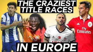The craziest league title races you should be watching - turkish süper lig, ekstraklasa, & more!