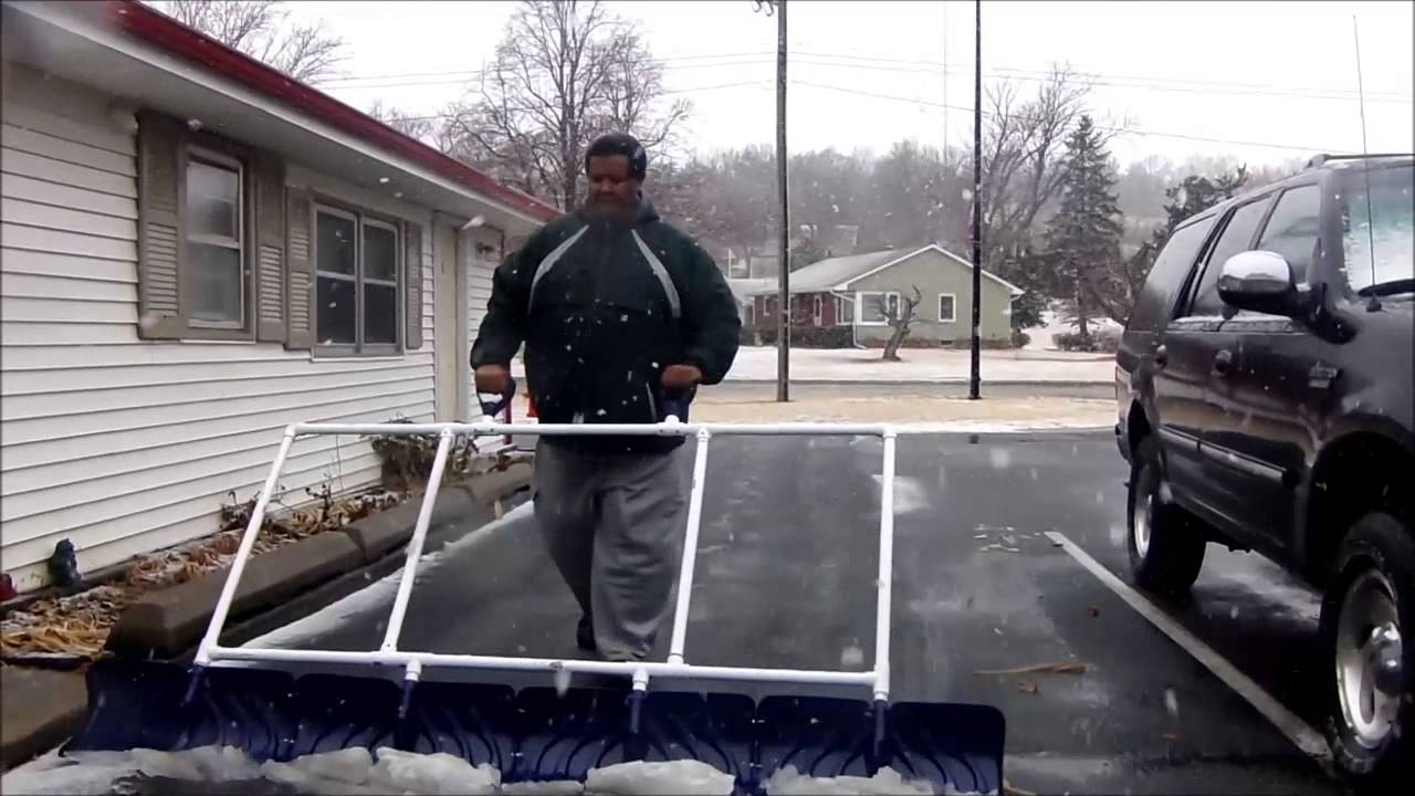8 Foot Snow Shovel Part 1 Youtube