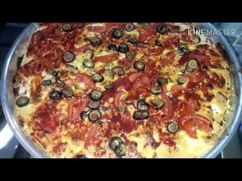 صورة  طريقة عمل البيتزا جوز بنتي عمل بيتزا ايطالية ولا اسهل#اروع وأسهل من الجاهزة #عملي مفاجأة 🙈🙈 طريقة عمل البيتزا من يوتيوب