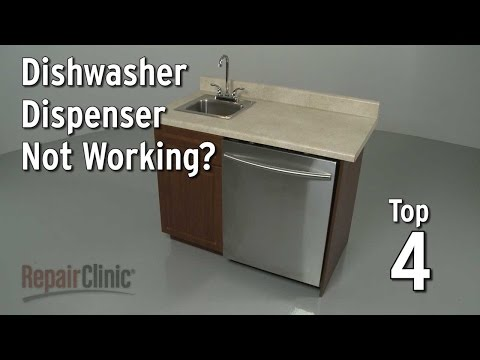 Top 4 Reasons Dishwasher Dispenser is Not Working?