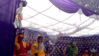 NGF Tiny tot Rewa dance video at school function 3