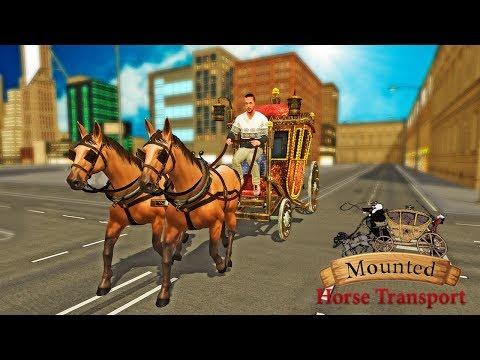 Mounted Horse Passenger Transport