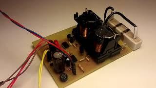 Bodovka - elektronika s relé