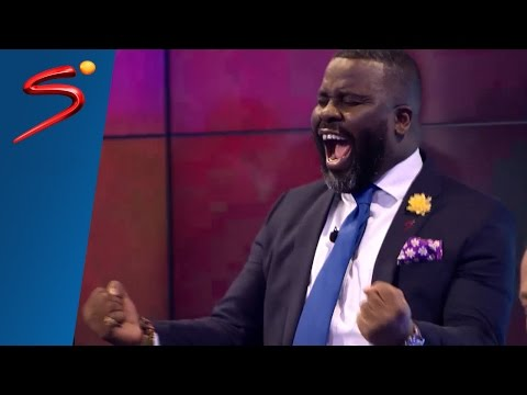 Sammy Kuffour and Benni McCarthy reaction - AFCON 2017 DRC vs Ghana