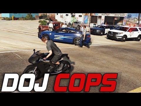 Dept. of Justice Cops #232 - Cat & Mouse (Criminal)