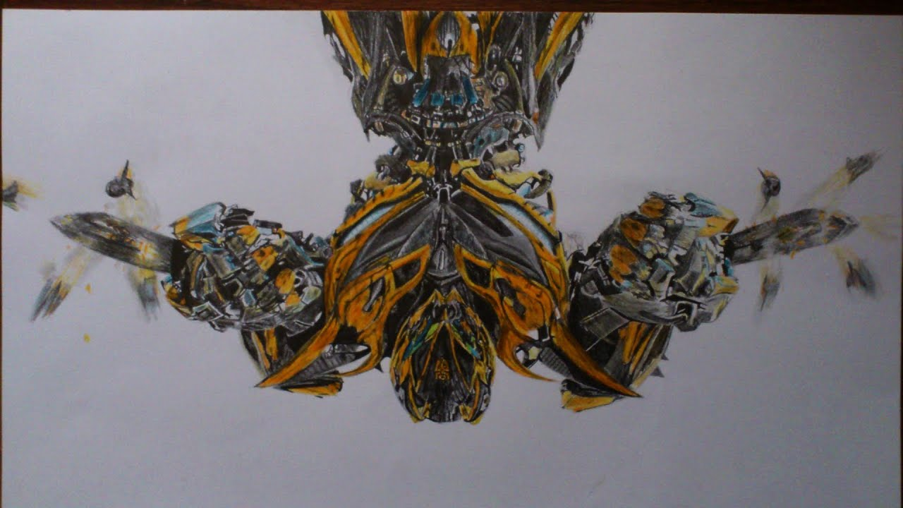 Picture draw - Transformers Age of Extinction - Bumblebee ...