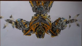 Picture draw - Transformers Age of Extinction - Bumblebee