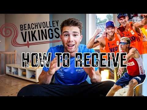 Beach Volley TUTORIAL | How To Receive Serve - 5 Important Tips (with Brouwer/Meeuwsen 🇳🇱)