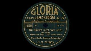 """""""Du kannst nicht treu sein"""" (Otten) Die Metropol-Vokalisten 1935"""