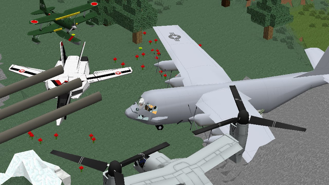 Realistic Planes Helicopters And Turrets Mod Episode