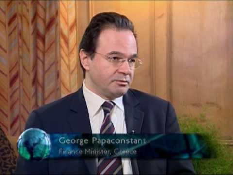 World Business: Interview with Georgios Papakonstantinou 05/02/10