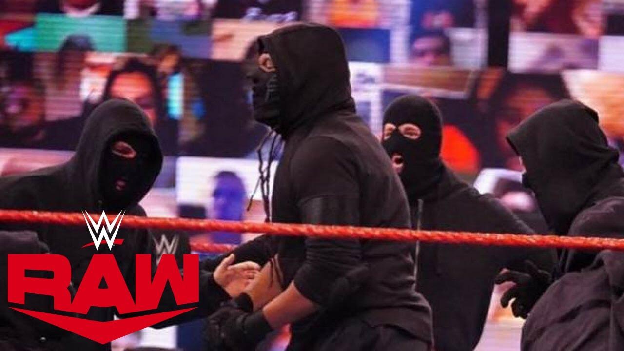 L'identité des Membres de Retribution Révélée? Résultats WWE RAW 14 Septembre 2020
