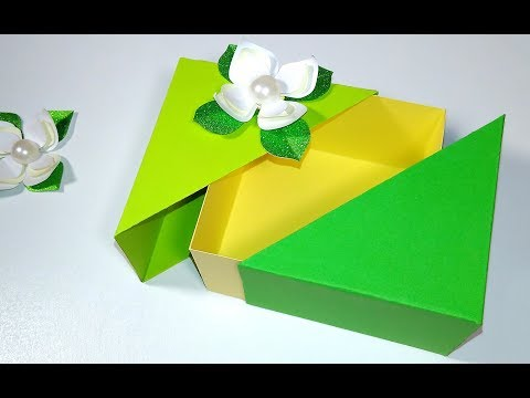Amazing DIY gift box. NO TEMPLATES! ANY SIZE! Ideas for Easter ... | 360x480