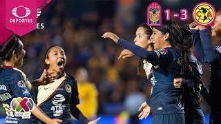 América se corona en la Liga MX Femenil | Tigres 1 (1) - (3) 1 América | Televisa Deportes