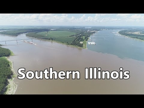 Southern Illinois Where Mississippi & Ohio Rivers Meet