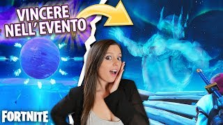 REAL VITTORY during THE EVENT WORLD ice storm - Absurd Fortnite Reaction!