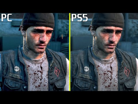 Days Gone PC vs PS5 - Wczesne Porównanie Grafiki 4K 60 FPS