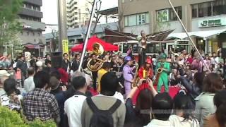 高円寺びっくり大道芸「Caravan(フルVer.)」【HD】