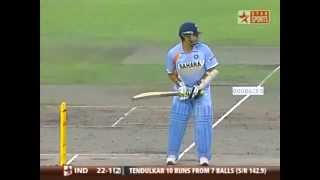 Just stand and Deliver: Sachin vs Brett Lee