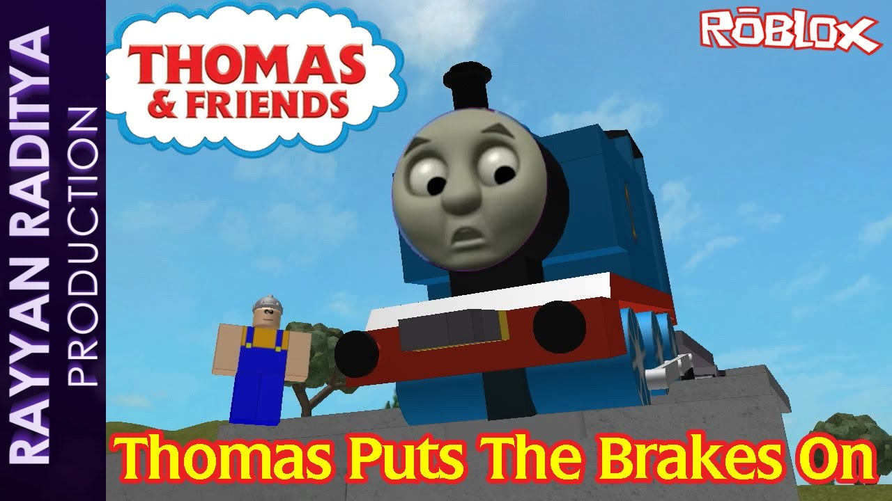 Thomas Puts The Brakes On Thomas And Friends Roblox Remake Youtube