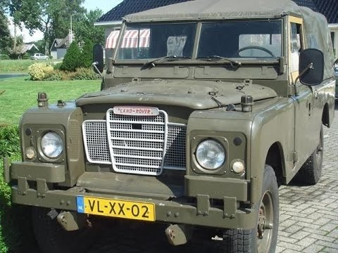 land rover series iii 109 military update 2 youtube. Black Bedroom Furniture Sets. Home Design Ideas