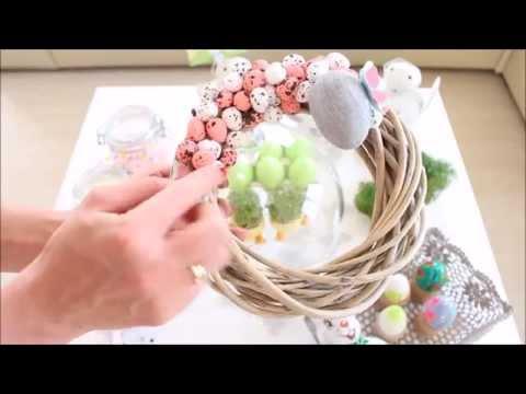 Ozdoby I Dekoracje Wielkanocne Easter Decorations Youtube