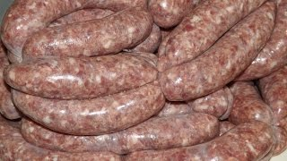 How To Make Sausages. Venison And Red Wine.thescottreaproject