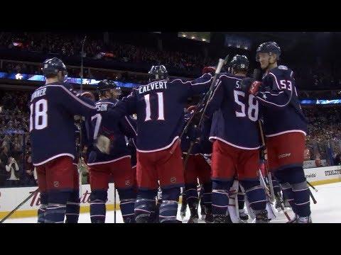 Luc-Dubois, Bobrovsky help lead Blue Jackets to SO win