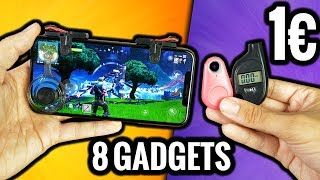 I test 8 Gadgets at 1€ ! (and it's not bad)