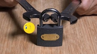 how to open a combination lock