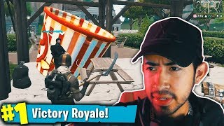 RARE POPCORN SKIN!: Shotguns, Jet Packs, & Sky Bases in Fortnite: Battle Royale!