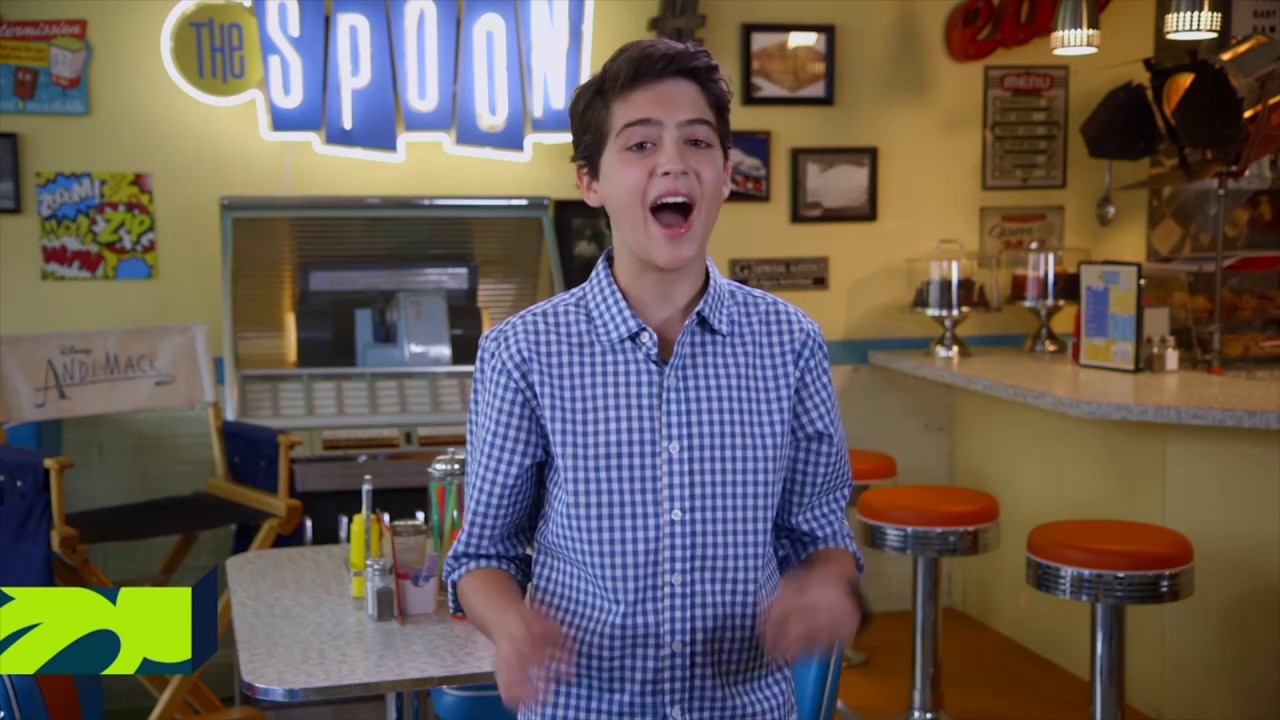 On the Set of Season 2 with Joshua | Andi Mack | Disney Channel